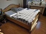 Landhausstil Bett Pinie 180 x