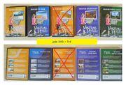 Verschiedene DVDs virtuelle Fitness