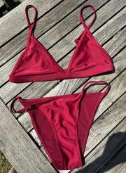 Bikini rot Gr S Neu