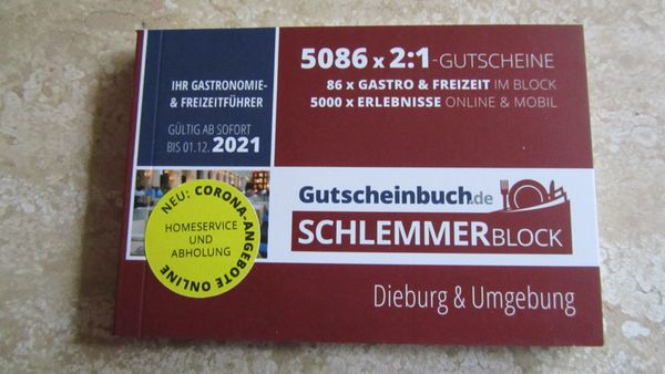 Schlemmerblock Dieburg 2021