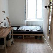 Bett und Matratze 140x190cm