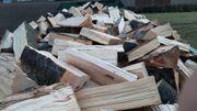 Verkaufe frisches Buchenbrennholz