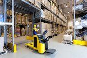 Schwerlastregale Lagerhalle Palettenregal gebraucht Logistikberatung