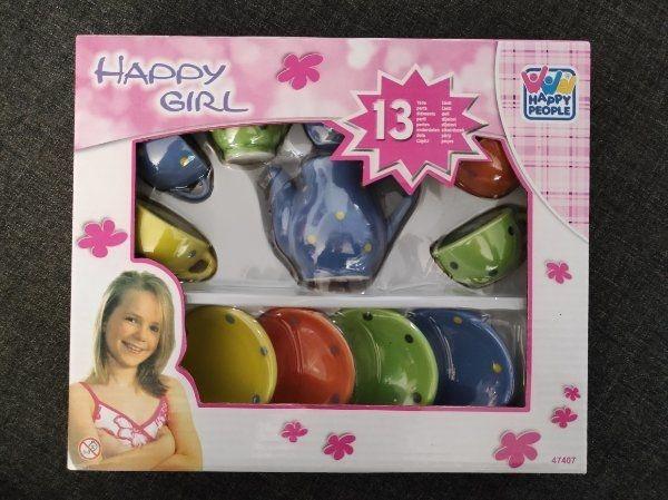 Spielzeug- Puppen-Geschirr Porzellan-Geschirr NEU OVP