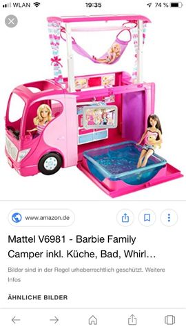 Spielzeug: Lego, Playmobil - Playmobil 2 - Sets Barbie Bus