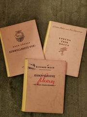 Drei seltene Bücher 1943 - 1944