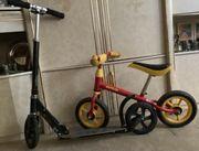 Roller und Trett Fahrrad