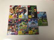 Nintendo Switch Spiele Neu Ungeöffnet