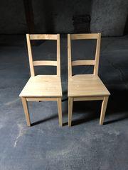 2 IKEA - Stühle aus Holz