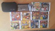 Nintendo 3DS XL mit diversen