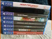 Playstation 4 PS4 Spiele verkauf