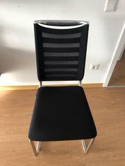 Stühle schwarz Marke Lilli - neuwertig