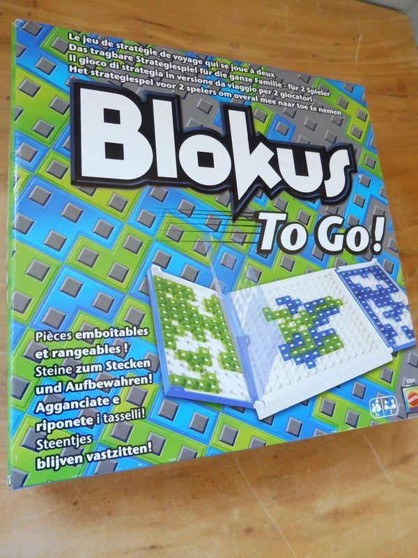Blokus to go Spiel