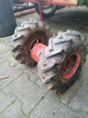 Balkenmäher Reifen mit Felge und