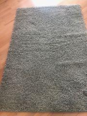 Teppich in Pastell grün