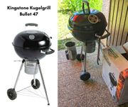Kingstone Kugelgrill Bullet 47 mit