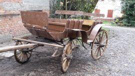 Zubehör Reit-/Pferdesport - Historische Kutsche