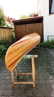 Holz-Kanu Canadier