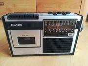 Kassettenrecorder- und Radio