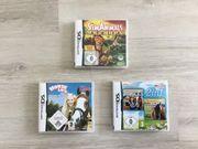 3 Nintendo DS Spiele je