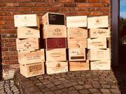 Weinkiste Holzkiste Dekokiste Plflanzkiste