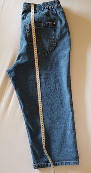 Neuwertige blaue Jeans Gr 42