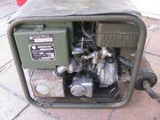 Eisemann Notstromaggregat Benzin 2Takt Bj