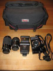 Minolta X-300s Spiegelreflex Kamera mit