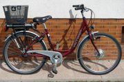 E-Bike Damen tiefer Einstieg 26