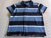 Herren-Piqué-Poloshirt Gr M gestreift man