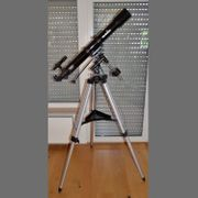 Teleskop Skywatcher Evostar-90 Refraktor auf
