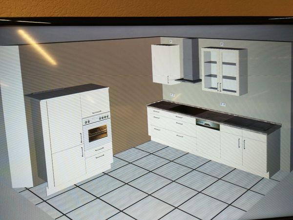 Siemens Kühlschrank 80 Cm Breit : Nobilia küche magnolia inkl siemens elektrogeräte softeinzug in