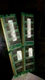 2 Riegel 256MB 184p PC3200
