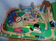 Eisenbahnschienenbauset ohne Tisch