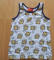 Hemdchen Gr 122 128 weiß