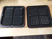 Biete 2 Waffel Backplatten