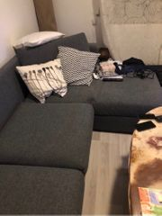 Couch 3 Sitzer neuwertig inkl