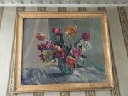 Ölbild Blumen