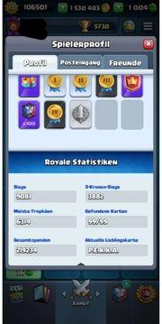 Clash Royale Account Lv 13