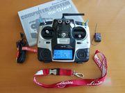 Fernsteuerung Graupner MX-12 mit Empfänger