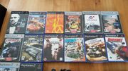 Playstation 2 Spiele 2 Controller