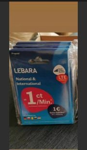 Lebara Sim Prepaid Aktiviert