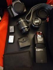 Canon EOS 1100D mit zwei