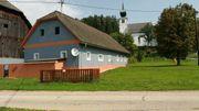 Kärnten Bauernhaus mit Scheune auf