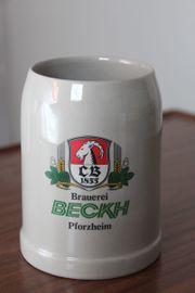 Bierkrug von Becks
