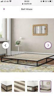 Bett ganz neu 140x200cm bed