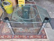 TV-Tisch Fernseh Hifitisch aus Glas