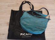 Picard Handtasche Petrol