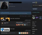 Steam Account LVL30 mit CSGO
