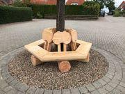 Baumbank Gartenbank Holzbank